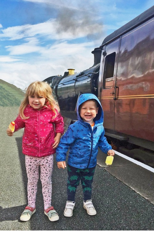 Lolly and Railway Enthusiasts